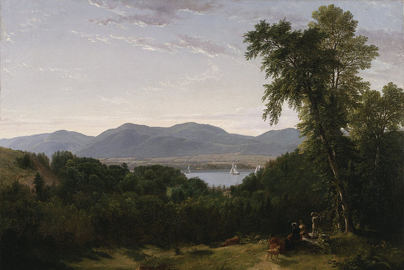 Views of the Beacon hills painted by one of the Hudson River Painters, Asher B. Duran.