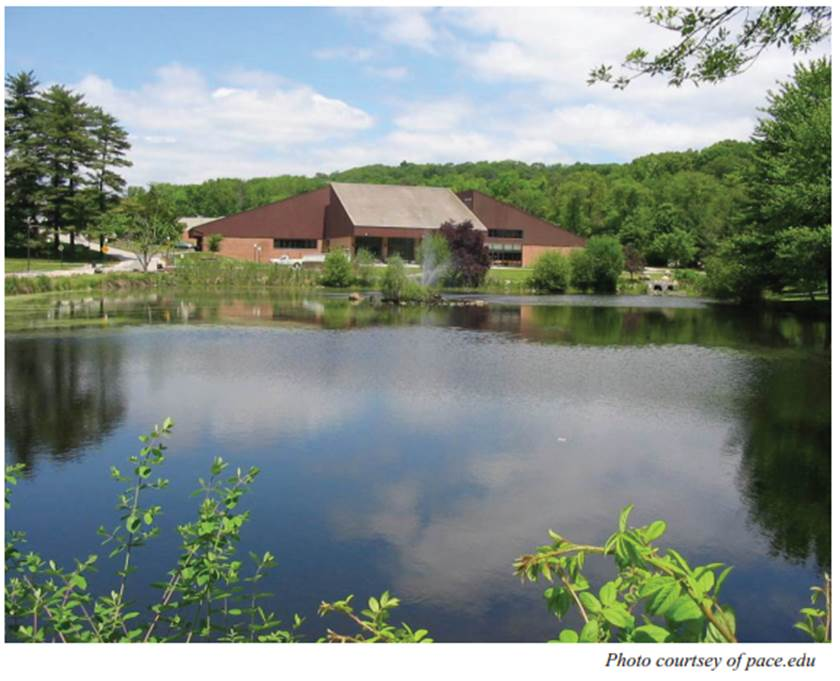 Pace Renews its Waterways with Choate Pond