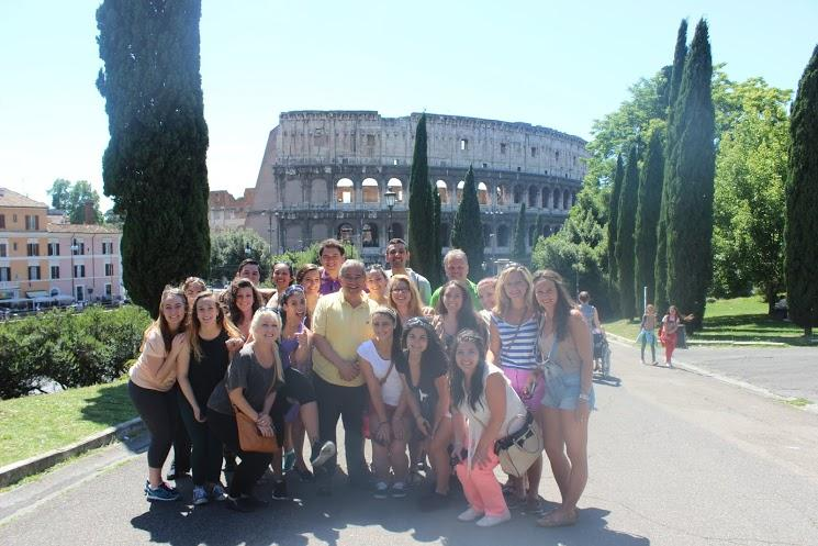 %22Pace+students+studying+in+Rome+gather+for+a+group+shot+in+front+of+the+Colosseum%22+