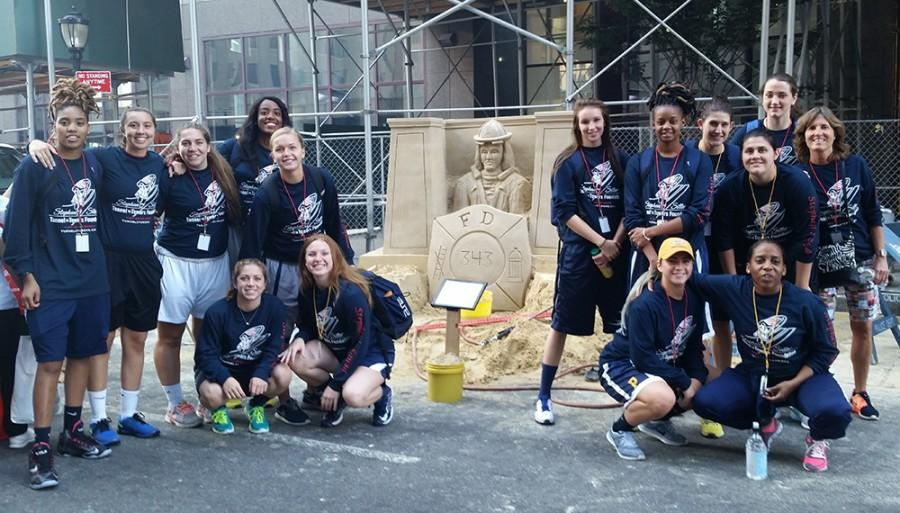 The Setters gave back to the 9/11 community by helping out at the Tunnel to Tower Run