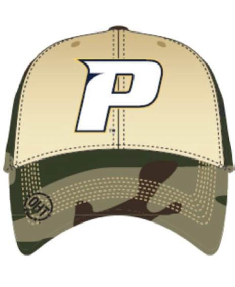 Pace students are now able to purchase the above hats at the bookstore. Part of the proceeds will be donated back to Operation Hat Trick, which helps service men and women with medical bills.