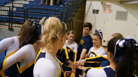 Pace Spirit Squad Features First Male Cheerleader