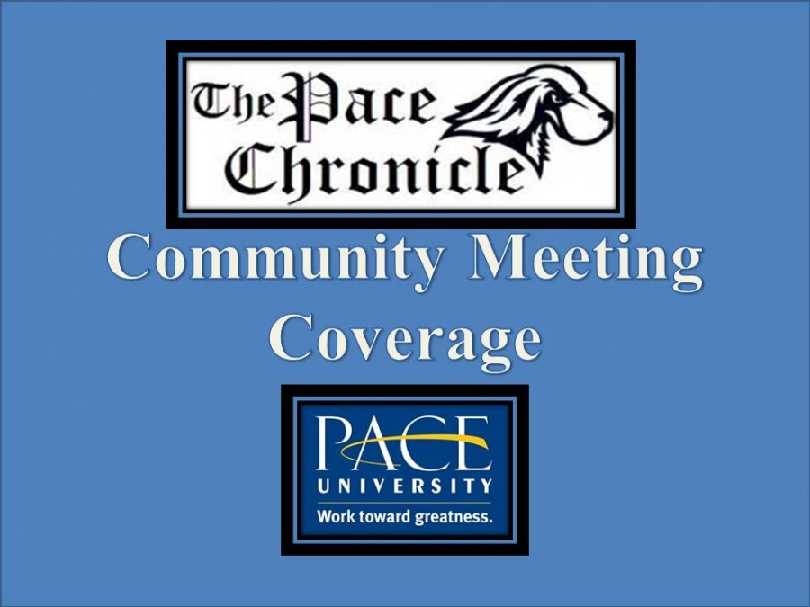 Pace Community Holds its Fall Semester Community Meeting