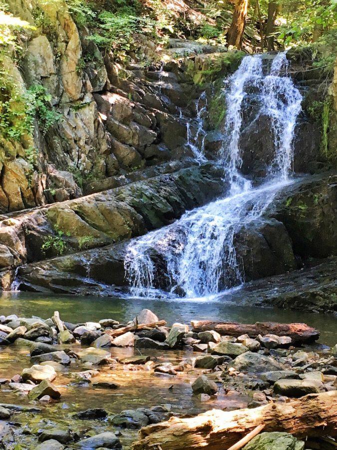 A shot of the Indian Brook Falls. (Photo courtesy of Michelle Ricciardi.)