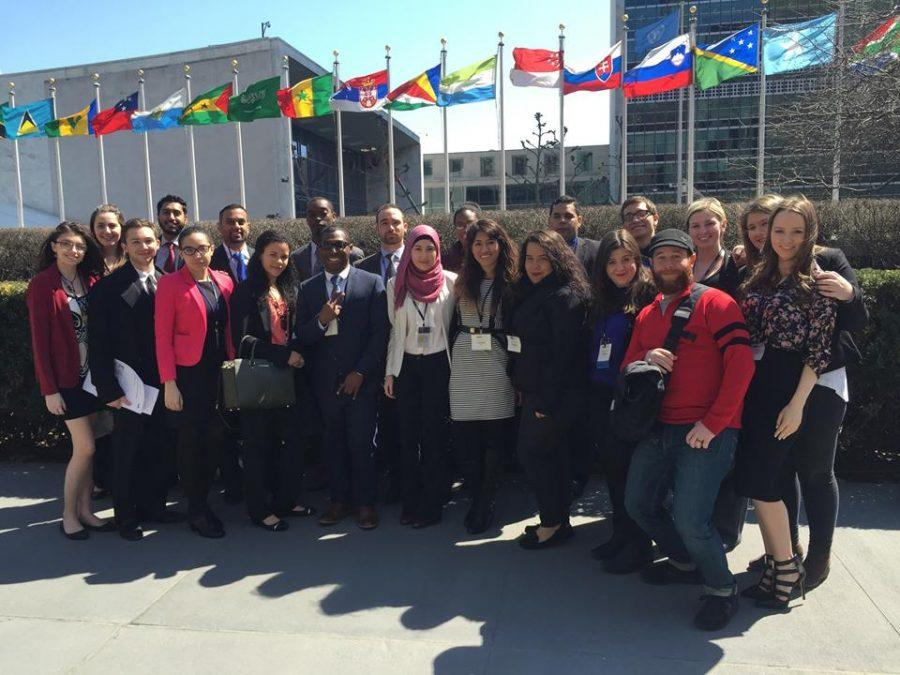 Pace University's Model UN team at National Model United Nations (NMUN) - Spring 2015
