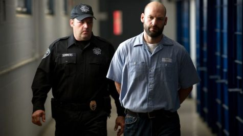 """Corey Stoll portraying Ben Day in the """"Dark Places"""" movie."""