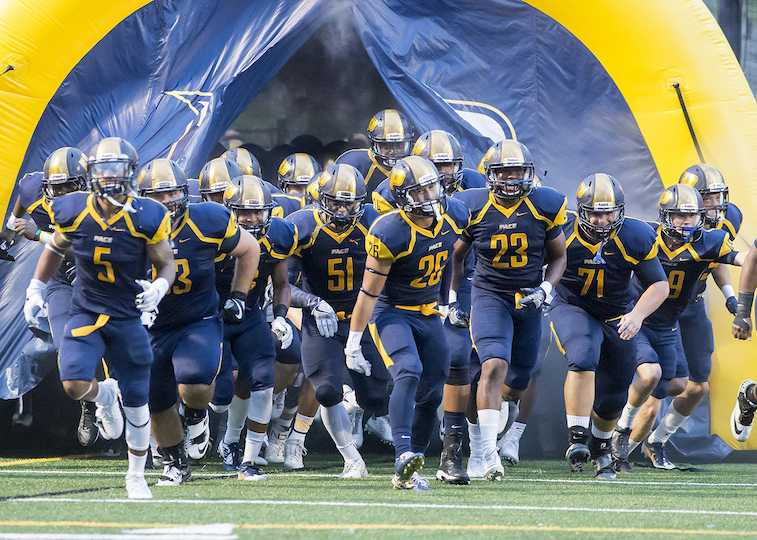 Pace University Football Team  (Courtesy of Pace Athletics)