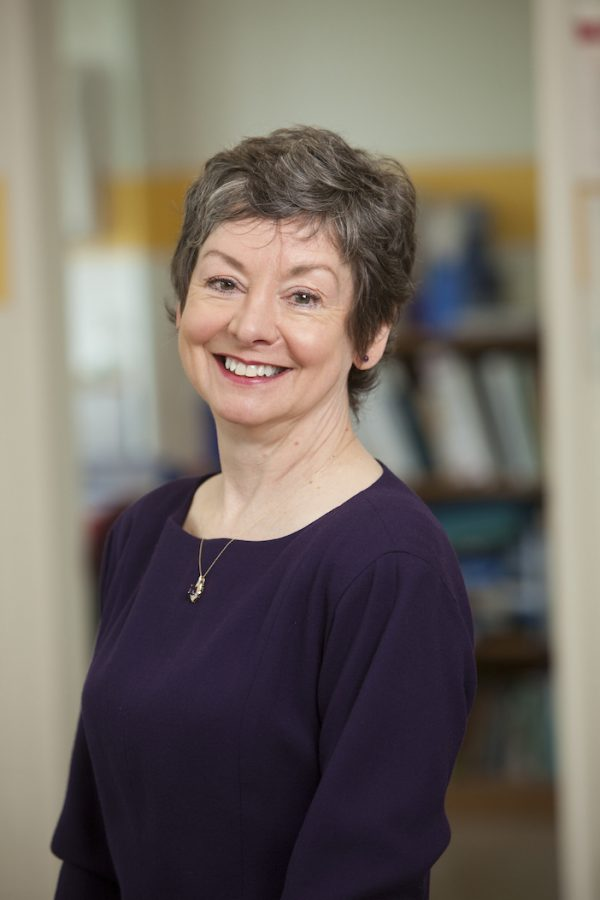 Professor Lin Drury  (Courtesy of the College of Health Professions)