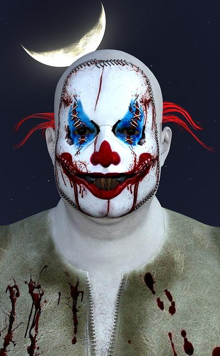 Clowns have been spotted all across the United States. Photo courtesy of Pixabay.