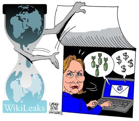 Photo courtesy of WikiLeaks.