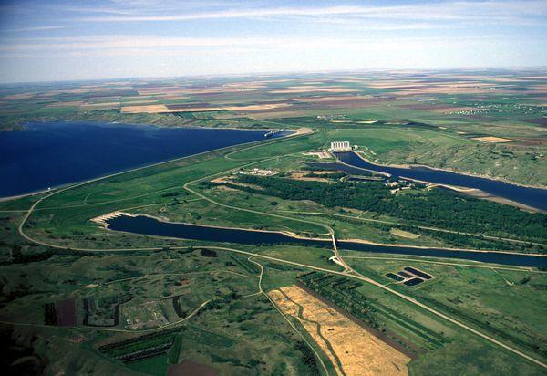 Lake Oahe, where DAPL's construction was set to take place. Photo courtesy of http://sdmissouririver.com