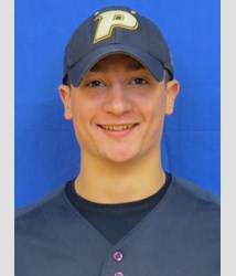 Sophomore Baseball Player Bryce Donovan Courtesy of Pace Athletics
