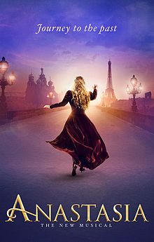 Anastasia the Musical poster.