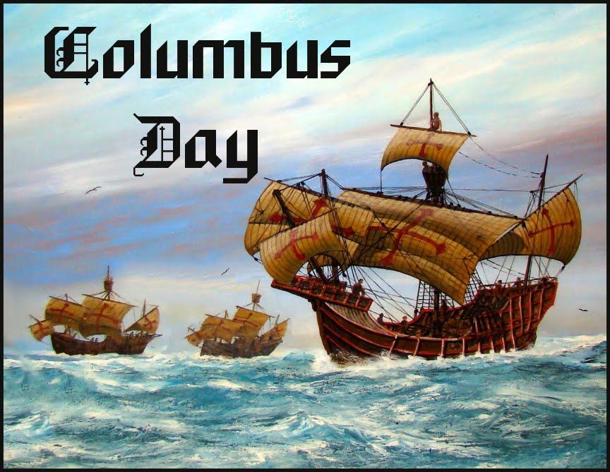 The Nina, Pinta, and Santa Maria set sail to the new world http://cdn1.theodysseyonline.com/files/2015/10/10/635800546148315482-452903736_columbus-day.jpg