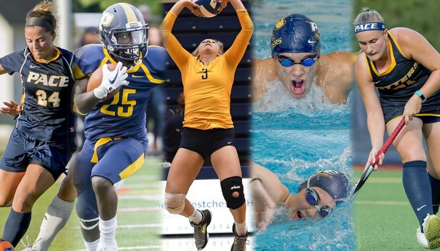 Three of the six teams in action this week celebrated its Senior Day. Photo Courtesy of Pace U Athletics.