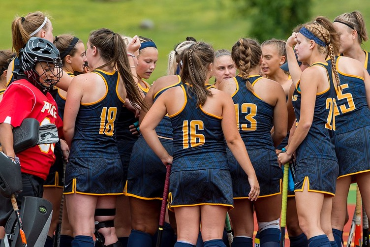 The Field Hockey team was ranked 8th in the nation at the end of its regular season. Photo Courtesy of Pace U Athletics.
