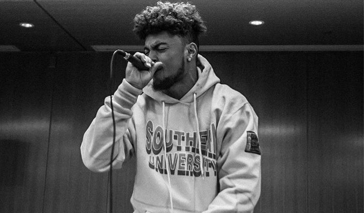David Grant, Pace senior and football player, is better known as Drok in the musical business where he has released hundreds of songs utilizing a mix of R&B, rap and funk. Photo Courtesy of David Grant.