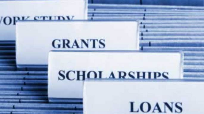 Work Study, grants, scholarships, and loans. All different types of financial aid students can use to pay of tuition. Photo courtesy of google.