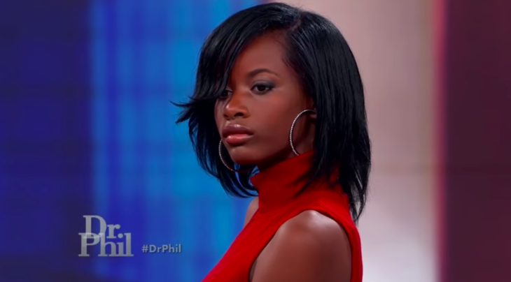 Treasure on Dr.Phil trying to convince everyone of her