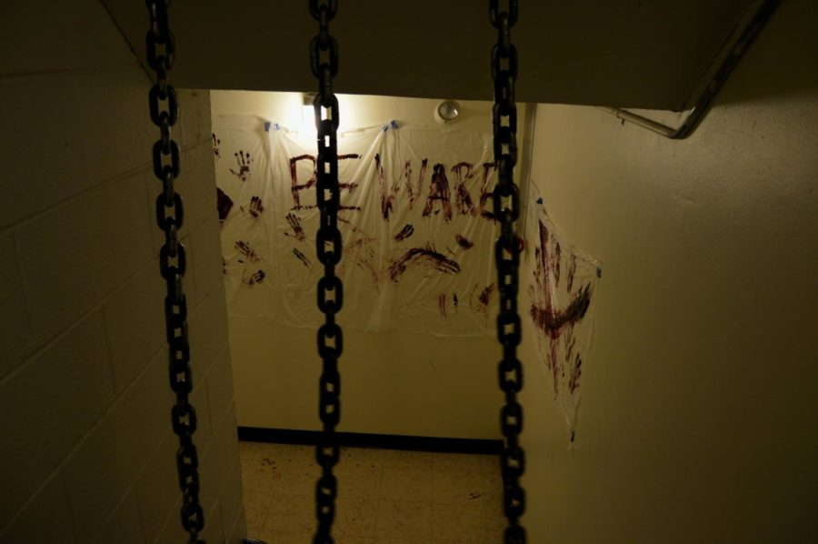Martin Hall was one of the many halls that participated in the Haunted Hall event last week.