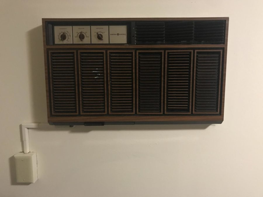 Temperature controlled Air Conditioning unit at the Townhouses.