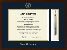 An example of what a Pace University diploma looks like. Something every Pace student is trying to achieve. Photo courtesy of google.