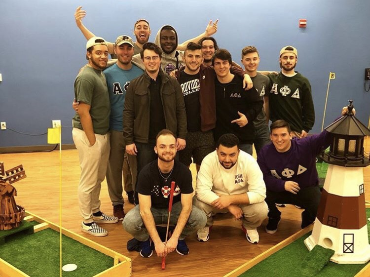 The brothers of Alpha Phi Delta hosted the event to raise money for Veteran organizations.