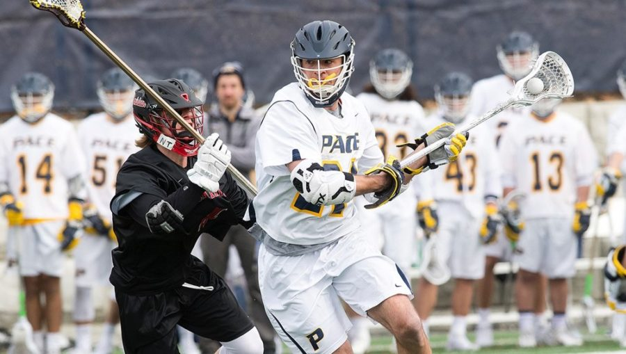 Graduate student Connor Vercruysse debuts his Division-I skills at Pace's home opener.