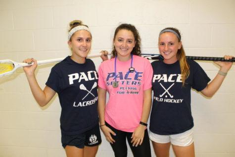 Shelby Cherwek (left), Victoria DiPresso (center) and Kamyrn Gianfrecesco (right)