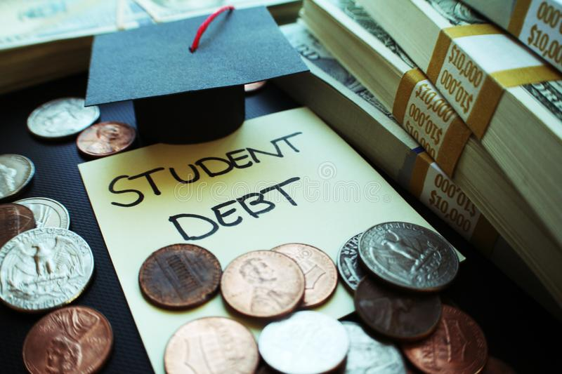 In addition to all the other stresses brought on by college life, 70 percent of undergrads also have to worry about how theyre going to pay back their student debt after they graduate. Photo courtesy of dreamstime.com.