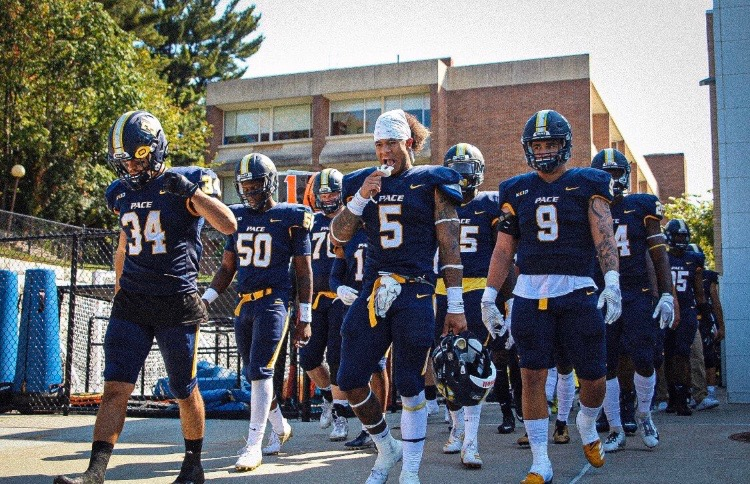 Pace football stands at second in the NE-10 poll