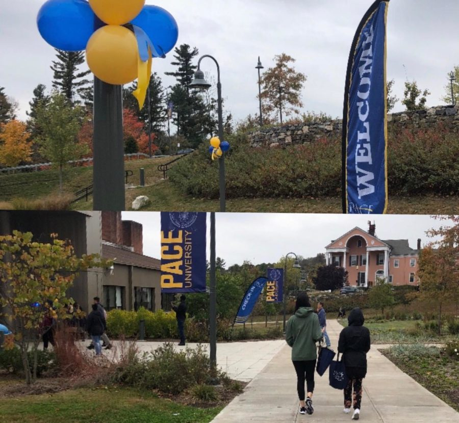 Prospective students and their families were on campus last month at the annual open house.