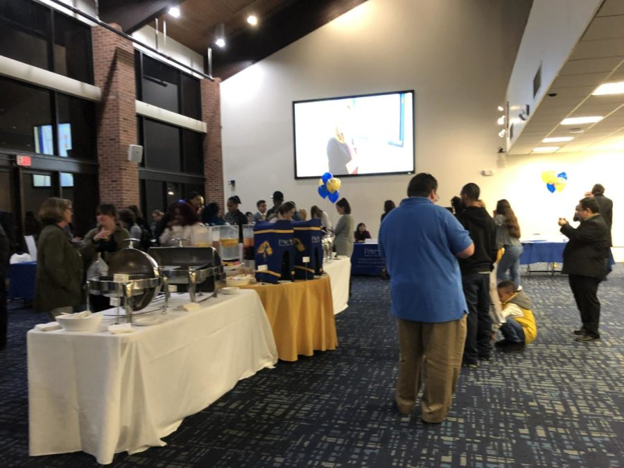 Prosepctive students attended the Fall 2019 Graduate open house the see what programs the Pleasantville campus has to offer.