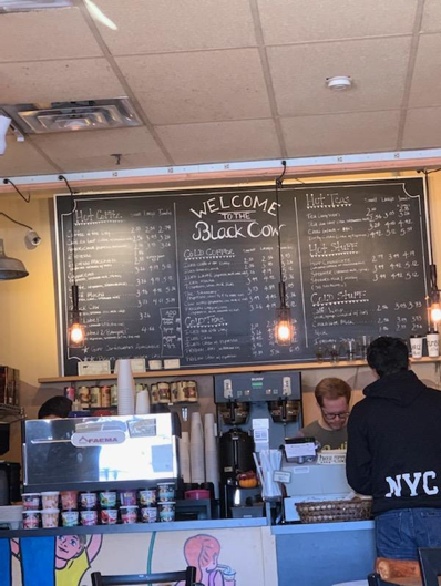 Inside of the Black Cow.