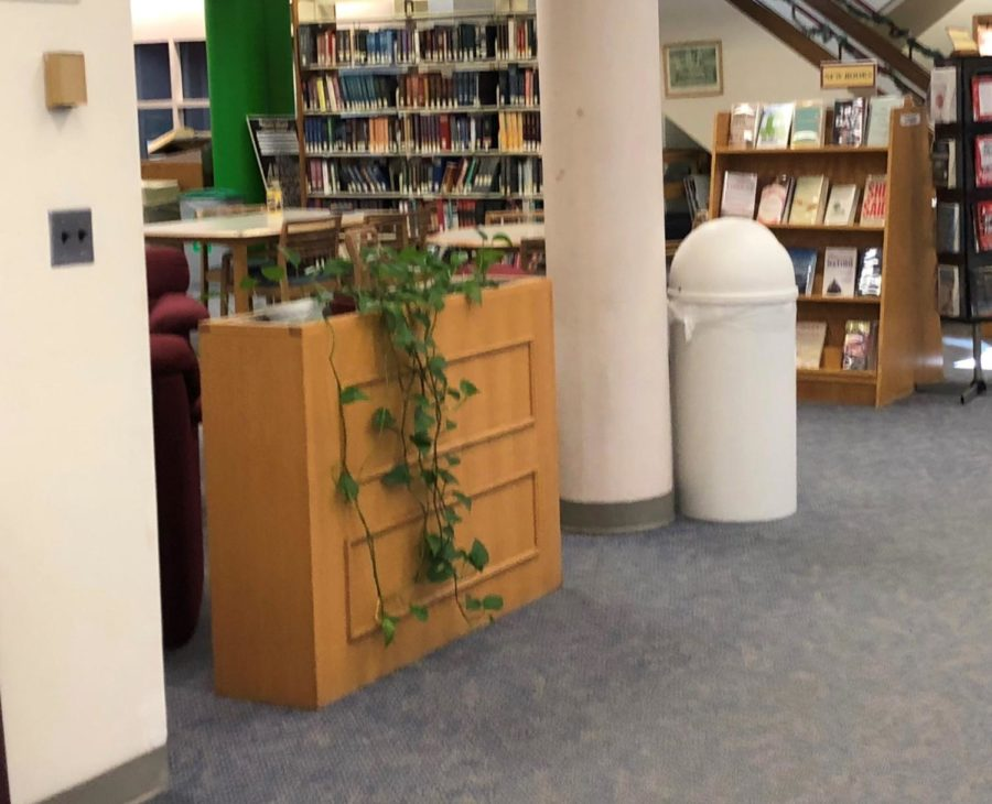 What Happened to the Technical Desk in the Library