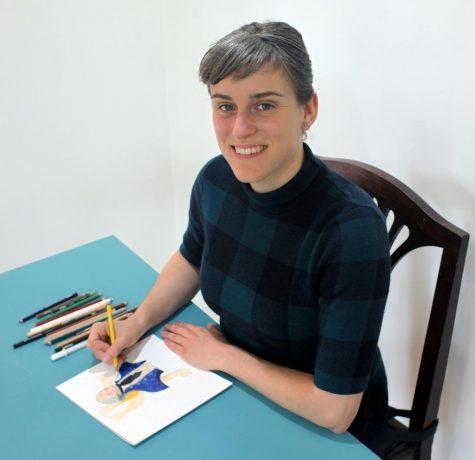 Heckel showcases her vision through art