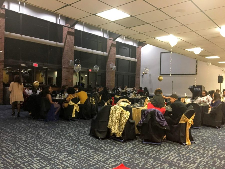 BSU+held+their+fifth+annual+Black+Excellence+Banquet+February+29th+in+Gottesman.+