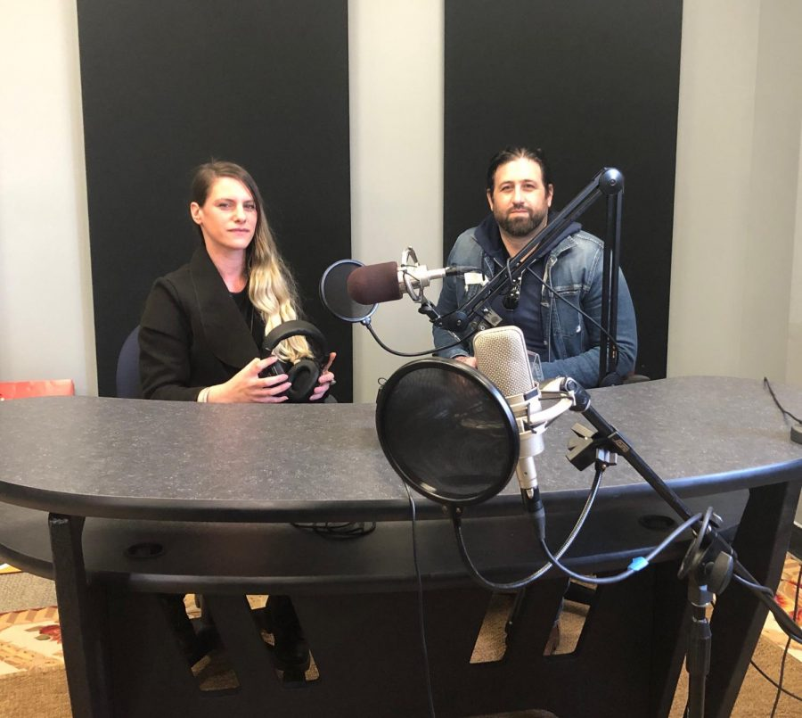 Dana Cadman, lecturer, was approached by Assistant Professor Robert Mundy with the idea to create a podcast that highlights the creativity of students.