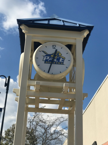 The clocktower has stood outside of GCF for 8 years, but is it enough?