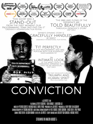 """Wrongfully Convicted: The story of Pace University graduate, Jeffrey Deskovic '19 is told through award-winning short film, """"Conviction"""""""