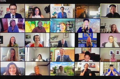 Last year Individual departments also held their own ceremony for students via Zoom, in addition to Paces webinar commencement.  This year, commencement will consist of a virtual ceremony and a series of in-person events currently in development.